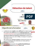 2013 La Detection Du Talent