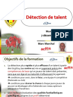 2013 La Detection Du Talent