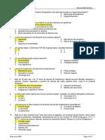 Examen de Residentado medico Subespecialidad Cirugia - Clave A