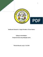 Propuesta Pedagogía Activa