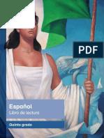 Primaria Quinto Grado Español Libro de Lectura
