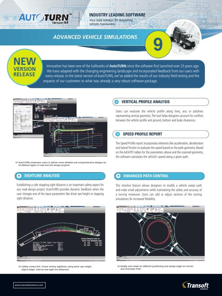 autoturn9 0 | Steering | Simulation