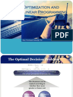 Kuliah 11 - Optimization and Linear Programming