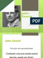 Presentaci n John Searle