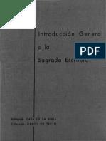 E. Martín, M. Revuelta, J. F. Hernández-J, P. Calvo, A. G. Lamadrid - E. Losada, F. F. Ramos - G. Pérez, O. García de La Fuente, InTRODUCCIÓN GENERAL A