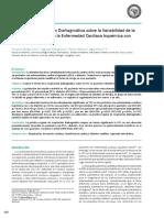 Efecto de La Respiración Diafragmática Sobre La Variabilidad de La Frecuencia Cardiaca en La Enfermedad Cardiaca Isquémica Con Diabetes