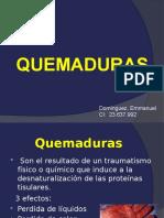 15 QUEMADURAS