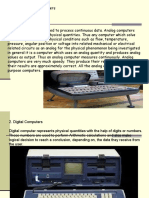 Different Classification of Computer
