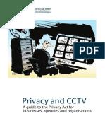 Privacidad y CCTV