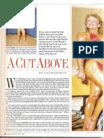 A Cut Above PDF