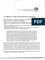 Freeman Garety Et Al 2002 a Cogn Model Persecut Delus