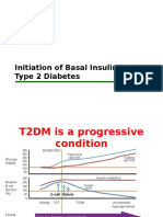 BPJS Initiation of Basal Insulin in t2dm - Rationale for Fix Fasting First