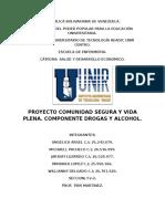 Proyecto Comunidad Segura y Vida Plena