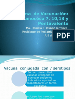 Vacunacion Neumococo