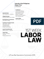 Labor Law Reviewer (2015)