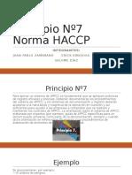 Principio Nº7 Norma HACCP