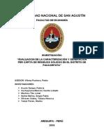 Evaluación de La Caracterización y Generación Per-cápita de Residuos Sólidos en El Distrito de Paucarpata