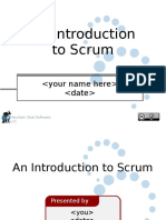 Reusable Scrum Presentation