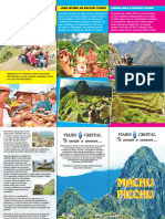 Triptico Machu Pichu