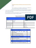 Planillas Mensuales de Mantenimiento Preventivo de Radiobases de Telecomunicaciones