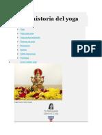 Breve Historia Del Yoga
