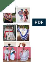 Trajes Tipicos de Centro America y Costumbres