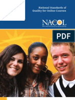 NACOL Standards Quality Online Courses