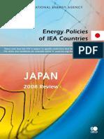 Japan2008 Energy Policies