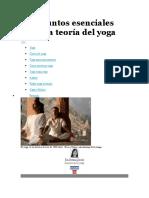 Diez Puntos Esenciales Sobre La Teoría Del Yoga