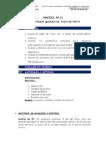 PRACTICA Nº1 Conservacion Quimica de Pulpa de Fruta