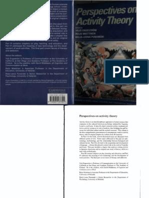 Perspectives on Activity Theory | Pragmatism | John Dewey