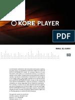 Kore Player Manual Spanish