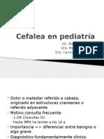 Cefalea en Pediatría