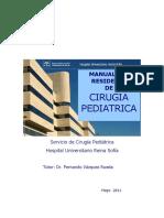 Cirugia Pediatrica Manual Residente 2011