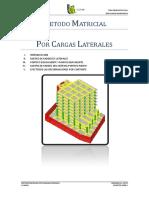 Metodo Matricial Por Cargas Laterales - Ujcm