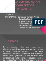 Cristalizacion de Los Compuestos Organicos