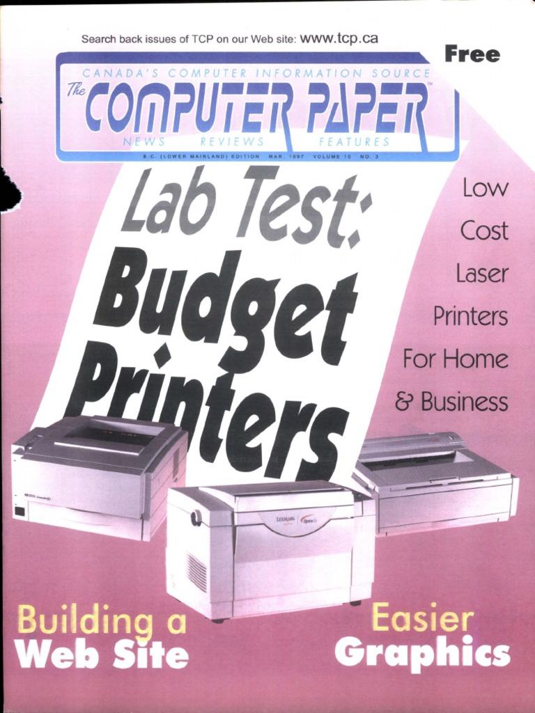 1997 03 The Computer Paper Bc Edition Macintosh Modem