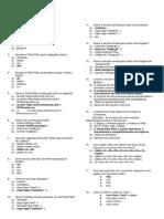 Prova de Reclassificação de HTML