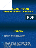 4 Approach to an Gynaecologic