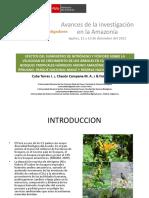 Efectos Del Suministros Del Nitrogeno y Fosforo Sobre La Velocidad Del Crecimiento de Los Arboles