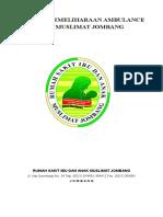 Cover Pemeliharaan Ambulance
