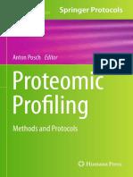Proteomic Profiling - Methods and Protocols