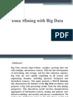 Data Minig With Big Data