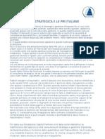 La consulenza strategica e le PMI italiane