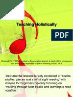 Teaching Holistically