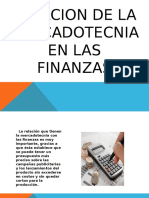 Relacion de La Mercadotecnia en Las Finanzas