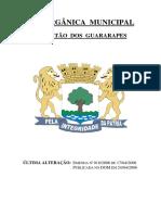 Lei Organica de Jaboatão Dos Guararapes-PE