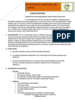 Concept Document_VI Youth Advocacy Coalition, Inc.