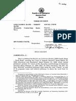 Gsis Family Bank - Thrift Bank vs. Bpi Family Bank, Gr No. 175278, September 23, 2015