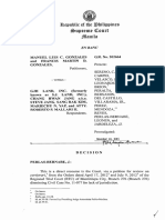 Manuel Luis c. Gonzales vs. Gjh Land, Inc., Gr. No. 202664, November 10, 2015